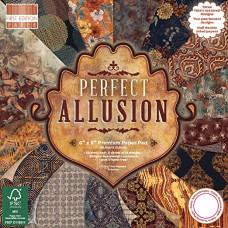 Набір скраппаперу Perfect Allusion, 15×15 см, 16 аркушів, First Edition