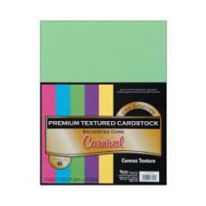 Набор текстурованого картону Darice Value Pack Canvas Cardstock А4 - 40 листів Carnival Assortment, Darice