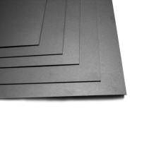 Пленка для рисования алкогольными чернилами (чёрная, матовая, 0,3мм, 60х40 cм)