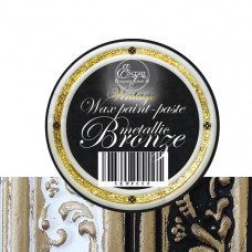 Восковая краска-паста Vintage  Bronze Metallic, 10 мл, ScrapEgo