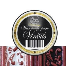 Восковая краска-паста Vintage Vinous pearl, 10 мл, ScrapEgo