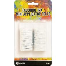 Набор фетровых мини аппликаторов для алкогольных чернил, 50 шт, Ranger