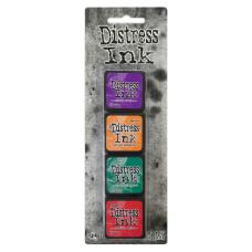Чернила для штампинга, Kit 15, Mini Kits, Distress Ink, Tim Holtz