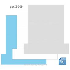 Набор картонных заготовок для шоколадниц (голубая, серая, белая), ТМ Курдибановская