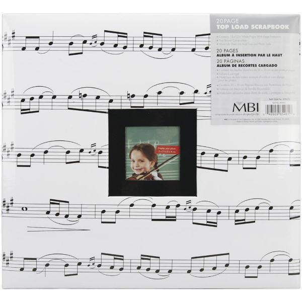 Альбом для скрапбукинга Music 30х30 см от MBI