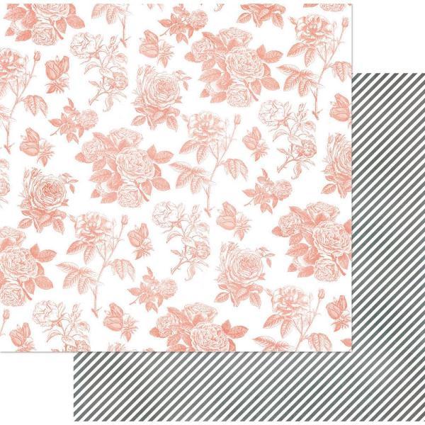 Двусторонняя бумага Toile 30х30 см от Bo-Bunny