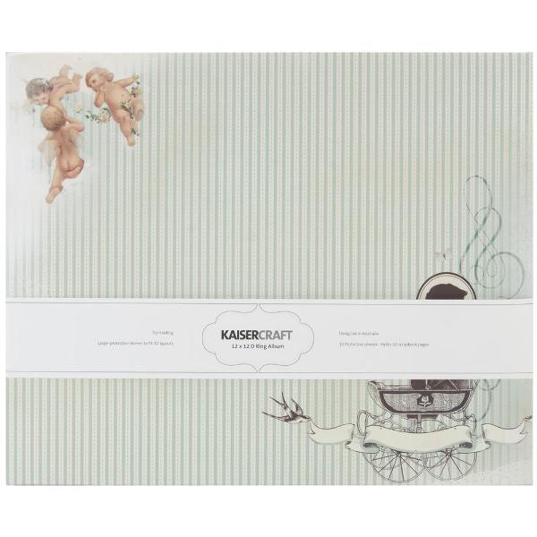 Альбом для скрапбукинга Bundle of Joy Boy 30х30 см от Kaisercraft
