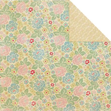 Двусторонняя бумага Perennial Multi Floral 30х30 см от Authentique Paper