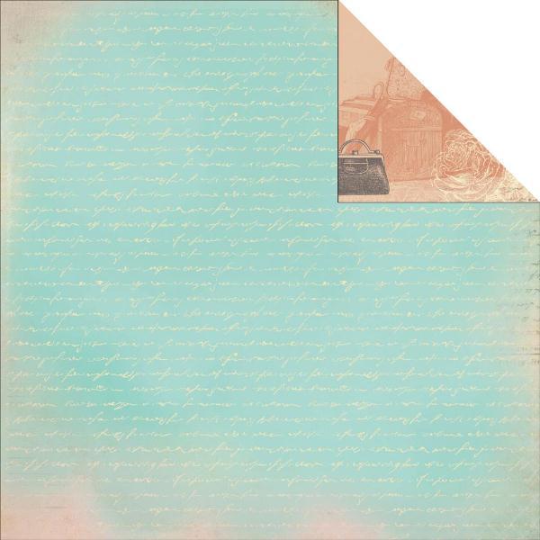 Двусторонняя бумага Breathe 30х30 от Kaisercraft