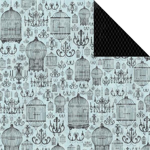 Двусторонняя бумага Lustre 30х30 от Kaisercraft