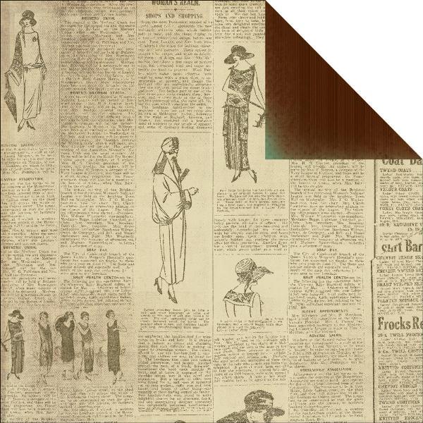 Двусторонняя бумага Petticoat 30х30 от Kaisercraft