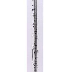 """Бумажный скотч """"Нотный ряд"""", ширина 15 мм, длина 8 м от ScrapBerry's"""