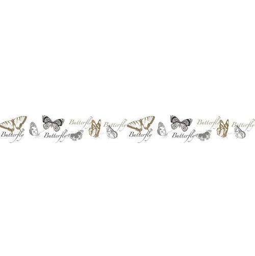 """Бумажный скотч """"Бабочки"""", ширина 15 мм, длина 8 м от ScrapBerry's"""