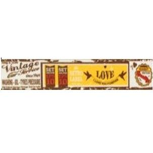 """Бумажный скотч """"Любовь начинается"""", ширина 15 мм, длина 8 м от ScrapBerry's"""