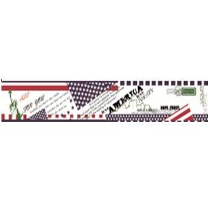 "Бумажный скотч ""Американская мечта"", ширина 30 мм, длина 8 м от ScrapBerry's"