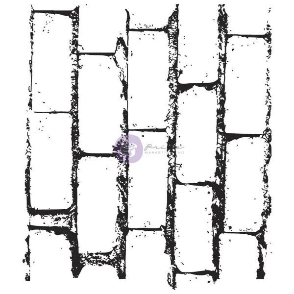 Акриловый штамп Bricks 5,6x6,3 см от Prima