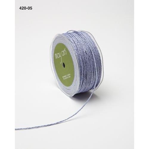 """Бумажный шнур """"Paper Cord"""" сиреневого цвета, 2 мм, 90 см от May Arts"""