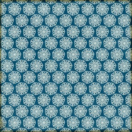 Двусторонняя бумага Vintage Floral 30х30 см от компании Echo Park