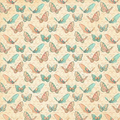 Двусторонняя бумага для скрапбукинга Heart Song 30х30 см от Graphic 45