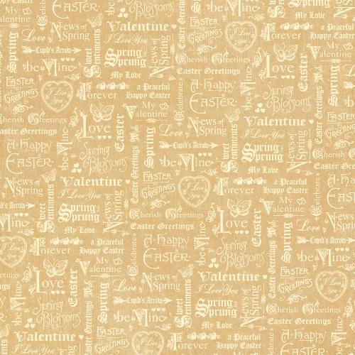 Двусторонняя бумага для скрапбукинга Spring has Sprung 30х30 см от Graphic 45