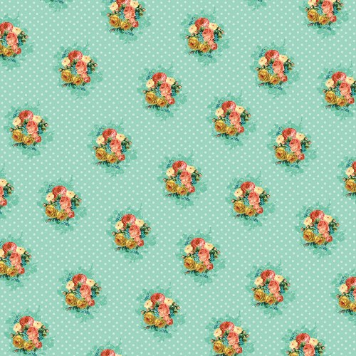 Двусторонняя бумага Flowers For You 30х30 см от My Mind's Eye