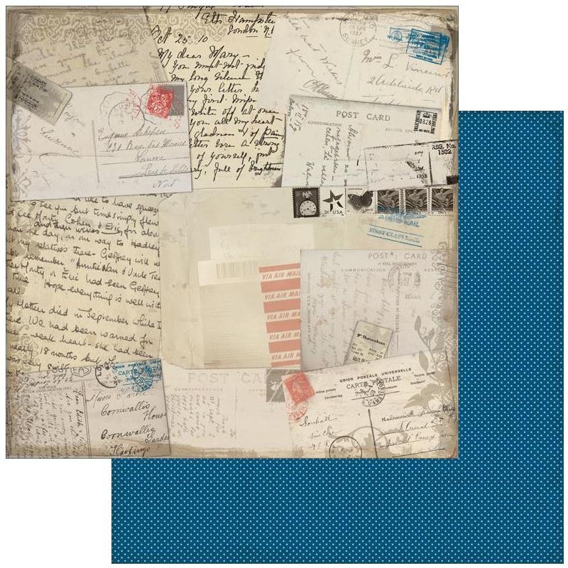 Двусторонняя бумага Memo 30х30 см от Authentique Paper