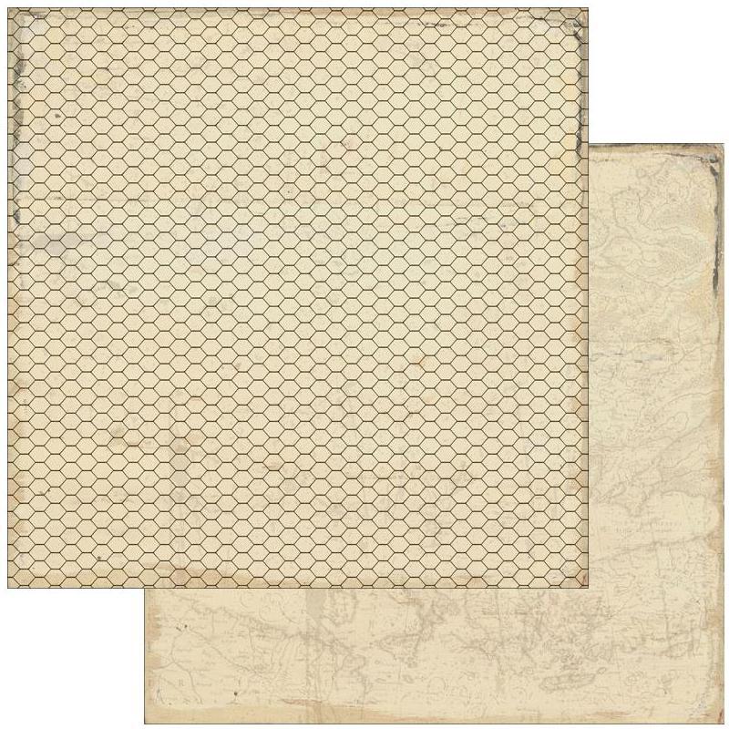 Двусторонняя бумага Away 30х30 см от Authentique Paper