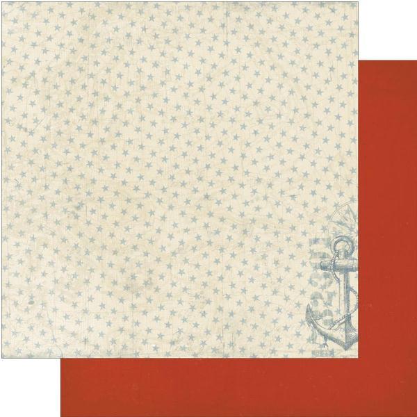 Двусторонняя бумага Guide 30х30 см от Authentique Paper