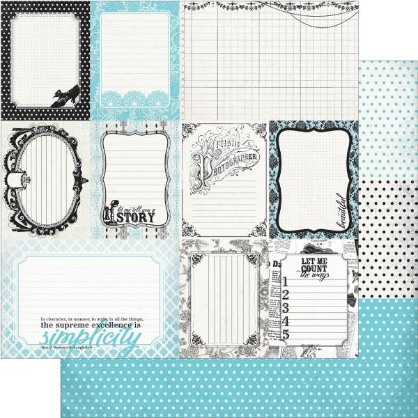 Двусторонняя бумага Enhancements 30х30 см от Authentique Paper