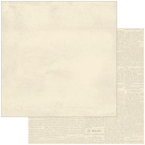 Двусторонняя бумага Foundation 2 30х30 см от Authentique Paper
