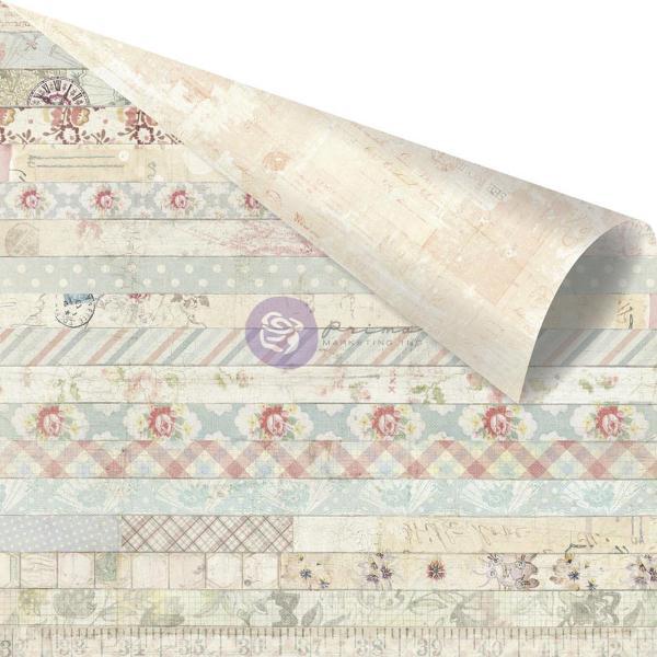 Двусторонняя бумага Decorative, 30х30 см от компании Prima