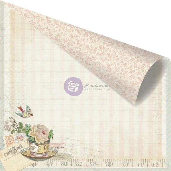 Двусторонняя бумага Delicious, 30х30 см от компании Prima