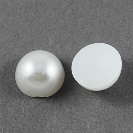 Набор полужемчужин белого цвета, 50 шт, 3 мм
