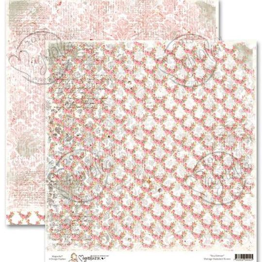 Двусторонняя бумага Summer Rose, 30х30 см от Magnolia
