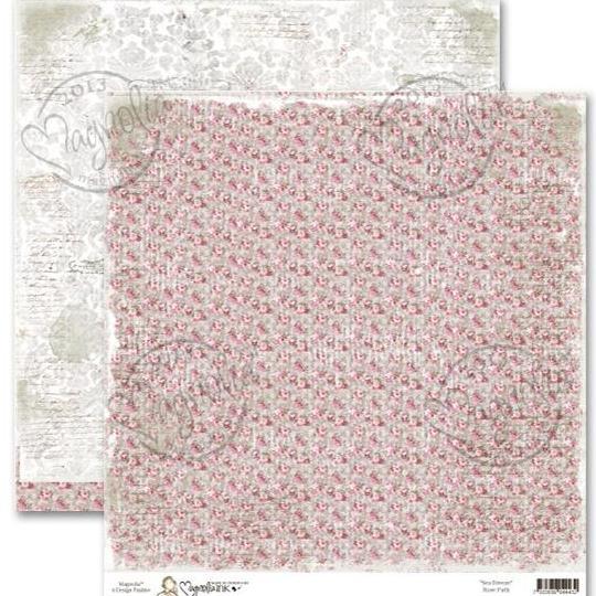 Двусторонняя бумага Rose Path, 30х30 см от Magnolia