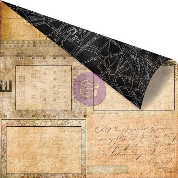 Двусторонняя бумага Carte, 30х30 см от компании Prima