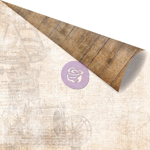 Двусторонняя бумага Boussole, 30х30 см от компании Prima
