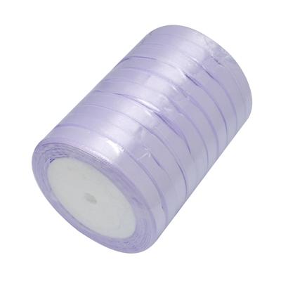 Атласная ленточка сиреневого цвета, ширина 10 мм, длина 90 см
