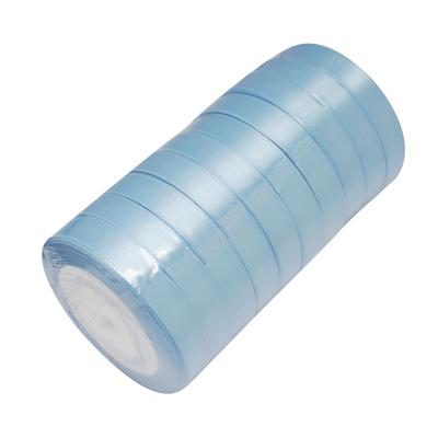 Атласная ленточка голубого цвета, ширина 16 мм, длина 90 см