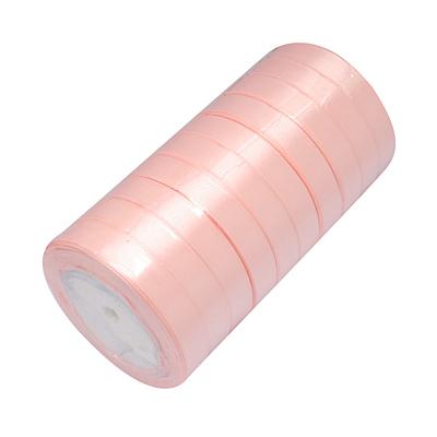 Атласная ленточка персикового цвета, ширина 16 мм, длина 90 см
