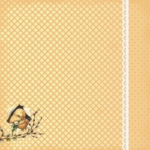 Двусторонняя бумага Весенний Праздник. Встреча Весны - 30,5х30,5 см от ScrapBerry's