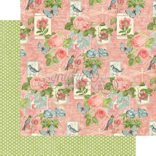 Двусторонняя скрапбумага Sweet Chamomile от Graphic 45