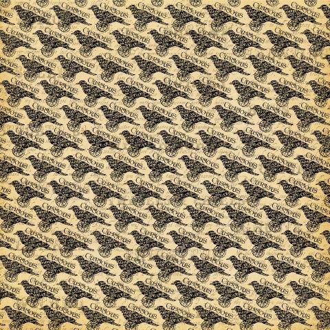 Двусторонняя скрапбумага Nevermore 30x30 от Graphic 45