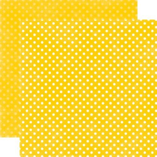 Двусторонняя бумага  Lemon Drops Small Dots 30х30 см от Echo Park