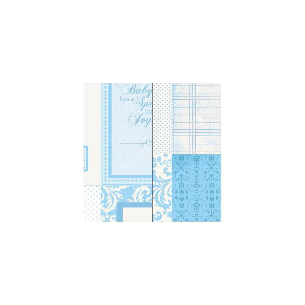 Двусторонняя бумага Baby Shower 30х30 см от Kaisercraft