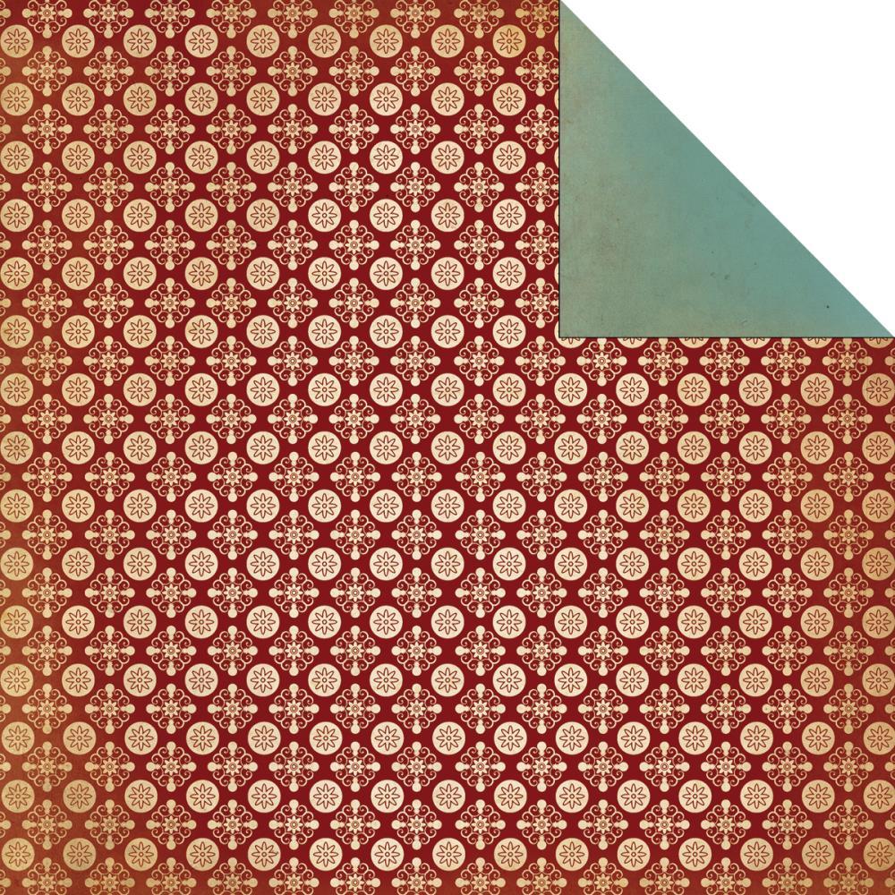 Двусторонняя бумага Interval 30х30 см от Kaisercraft