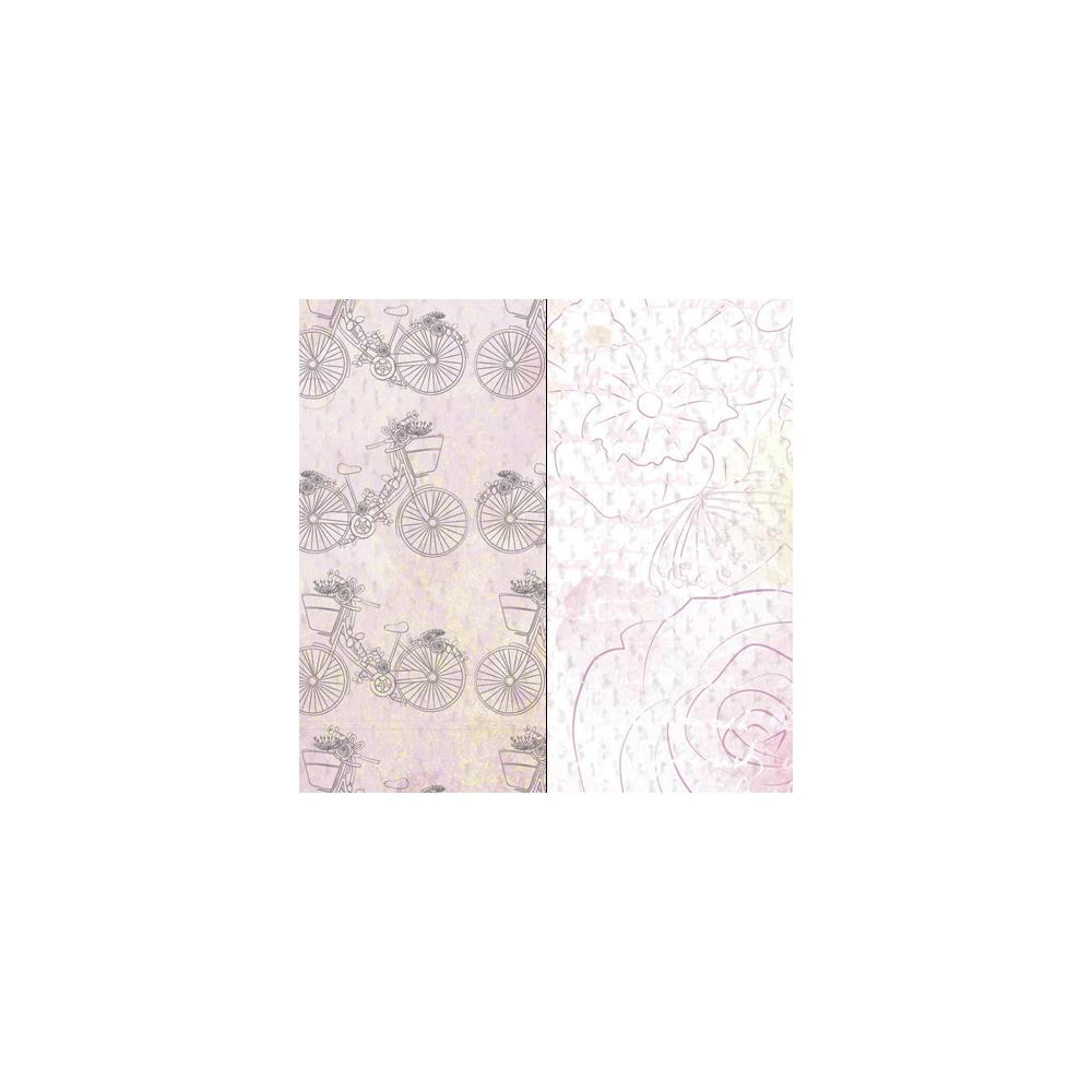 Двусторонняя бумага Pink Grapefruit 30х30 см от Kaisercraft