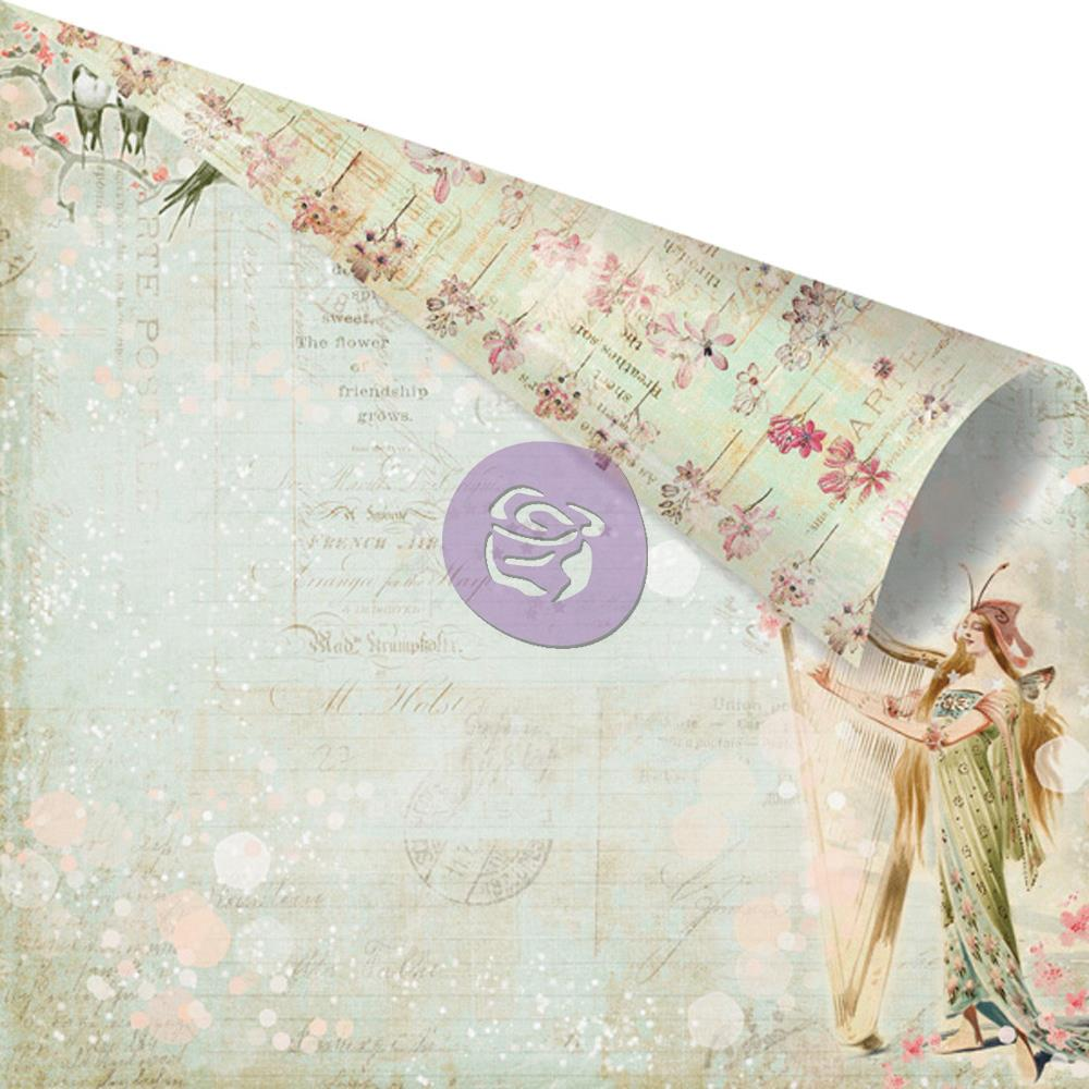 Двусторонняя бумага Ava 30х30 см от компании Prima
