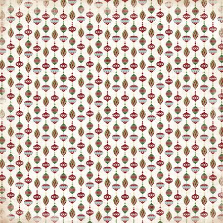 Двусторонняя бумага Ornaments  30х30 см от Carta Bella