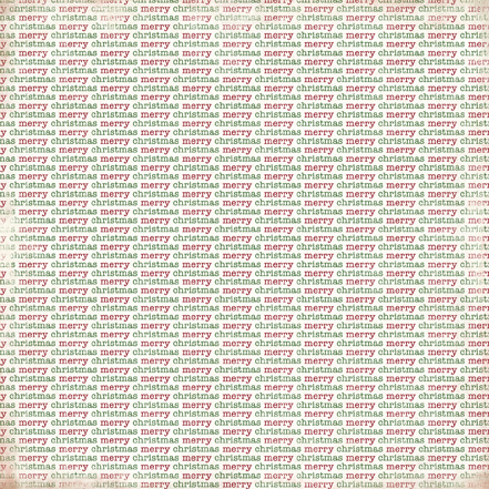 Двусторонняя бумага Christmas Time 30х30 см от Carta Bella